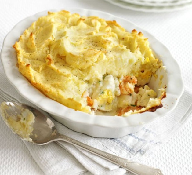 Luxury dine in product descriptions candi creations for Fish pie jamie oliver